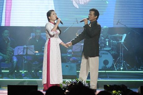 'Nu hoang nhac do' Anh Tho tai hop voi 'ong hoang nhac sen' Che Linh - Anh 2