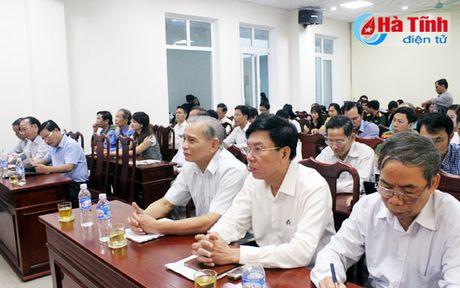 Bao Ha Tinh gap mat CTV-TTV va phat dong thi viet ve nong thon moi - Anh 1