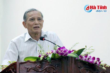 Bao Ha Tinh gap mat CTV-TTV va phat dong thi viet ve nong thon moi - Anh 2