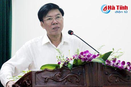 Bao Ha Tinh gap mat CTV-TTV va phat dong thi viet ve nong thon moi - Anh 5
