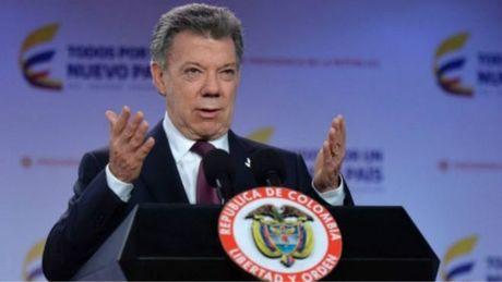 Tong thong Colombia Santos doat giai Nobel Hoa binh 2016 - Anh 1