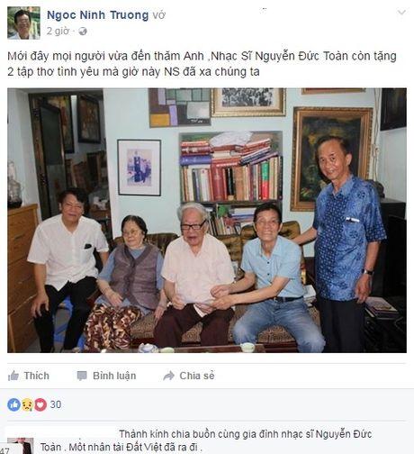 Nhac si 'Biet on chi Vo Thi Sau' Nguyen Duc Toan qua doi - Anh 3
