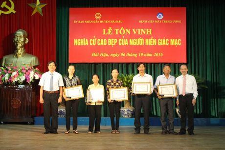 Nam Dinh: Ton vinh nhung nguoi hien giac mac - Noi dai yeu thuong, noi dai su song - Anh 1