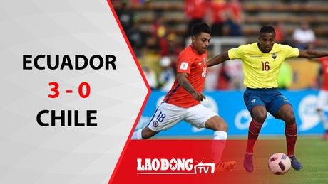 Chile thua tham 0 - 3 truoc Ecuador - Anh 1
