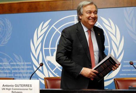 Hoi dong bao an chinh thuc de cu ong Guterres ke nhiem ong Ban Ki-moon - Anh 1