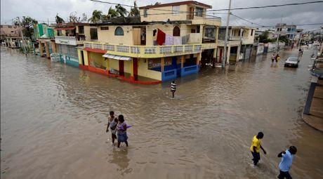 Haiti lam vao tinh trang khung hoang sau bao Matthew - Anh 3