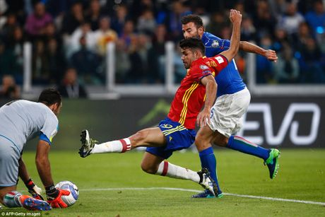 Buffon mac sai lam, Italy may man khong thua Tay Ban Nha - Anh 4