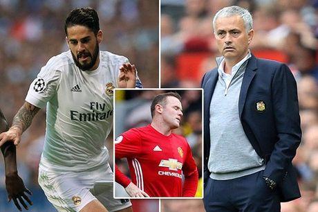 Tin chuyen nhuong 7/10: MU nham Isco thay Rooney, Chelsea tum Griezmann - Anh 2