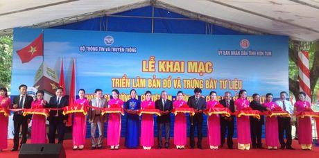 Dua Hoang Sa, Truong Sa gan hon voi dong bao tinh Kon Tum - Anh 1