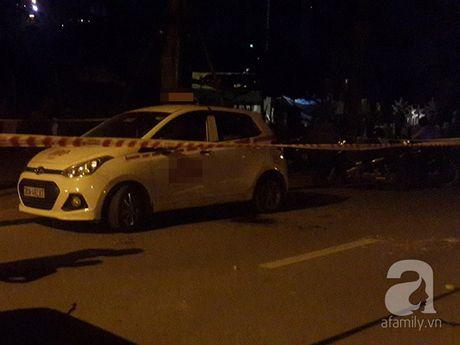 Ha Noi: Tom gon ke tinh nghi cuop taxi giua dem tren duong Vo Chi Cong - Anh 2