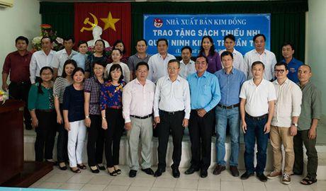 NXB Kim Dong trao tang sach thieu nhi tai Ninh Kieu, Can Tho - Anh 2