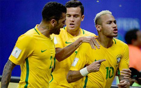 Neymar toa sang, Brazil thang 5 sao truoc Bolivia - Anh 1