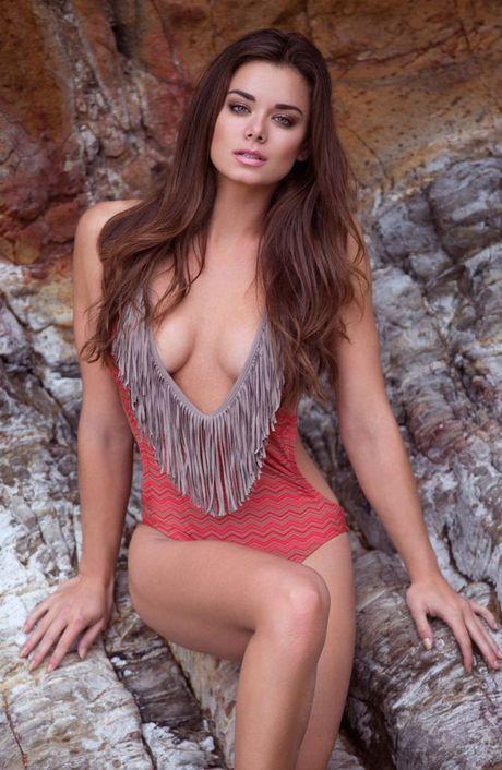 Top 20 nang Ring-girl sexy nhat the gioi (Ki 18): Dessie Mitcheson - Anh 10