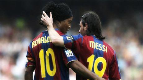 Messi, Ronaldo va nhung ngoi sao 'an dut' nguoi tien nhiem - Anh 1