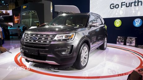 Ford Explorer - Ngoi sao SUV tai VMS 2016 - Anh 1