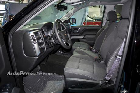 Chi tiet tu trong ra ngoai cua 'khung long' Chevrolet Silverado - Anh 11