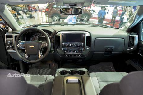 Chi tiet tu trong ra ngoai cua 'khung long' Chevrolet Silverado - Anh 12