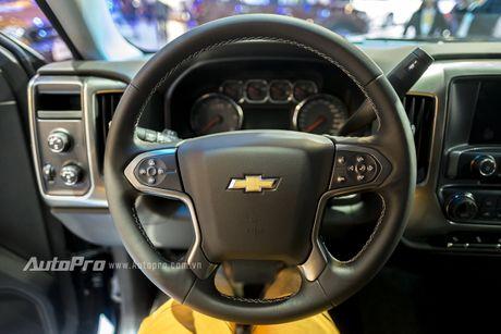 Chi tiet tu trong ra ngoai cua 'khung long' Chevrolet Silverado - Anh 13
