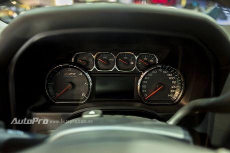 Chi tiet tu trong ra ngoai cua 'khung long' Chevrolet Silverado - Anh 14
