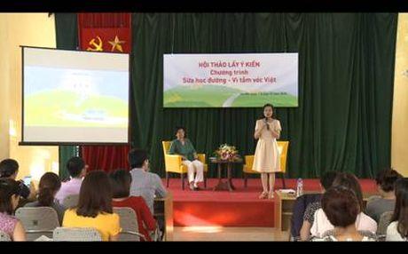 Hoc sinh Ha Noi han hoan chao don chuyen xe Sua hoc duong - Anh 3
