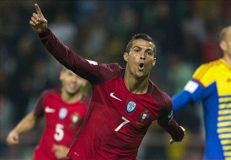 Ronaldo lap poker, Bo Dao Nha dai thang Andorra kieu tennis - Anh 1