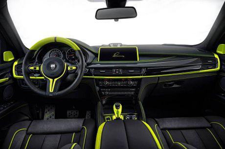Lumma Design nang cap BMW X6 M voi ngoai that the thao hon, dong co 750 HP, toc do 300 km/h - Anh 12