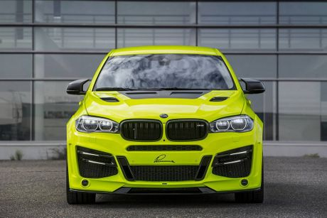 Lumma Design nang cap BMW X6 M voi ngoai that the thao hon, dong co 750 HP, toc do 300 km/h - Anh 1