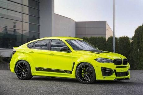 Lumma Design nang cap BMW X6 M voi ngoai that the thao hon, dong co 750 HP, toc do 300 km/h - Anh 6