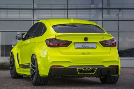 Lumma Design nang cap BMW X6 M voi ngoai that the thao hon, dong co 750 HP, toc do 300 km/h - Anh 9
