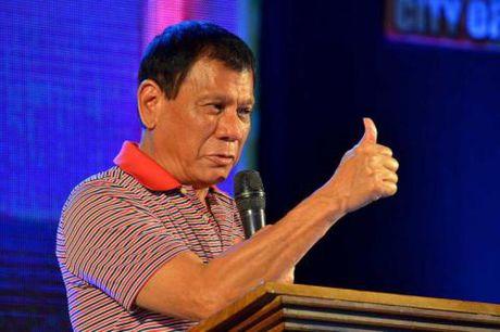 Tong thong Philippines thach thuc My va EU cat vien tro - Anh 1