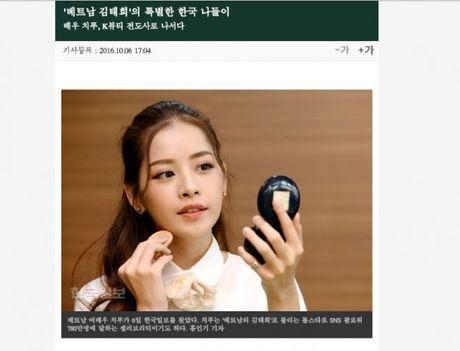 Chi Pu duoc bao Han vi nhu 'Kim Tae Hee Viet Nam' - Anh 3