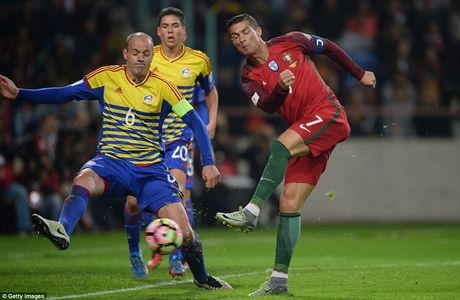 Ronaldo ghi 4 ban trong chien thang 6 sao cua Bo Dao Nha - Anh 1