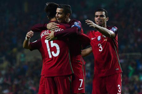 Ronaldo ghi 4 ban trong chien thang 6 sao cua Bo Dao Nha - Anh 9