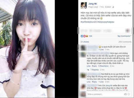 Sau cover nhac Trinh, 'Thanh nu bolero' khien fan xieu long voi anh selfie dep tuoi 20 - Anh 2