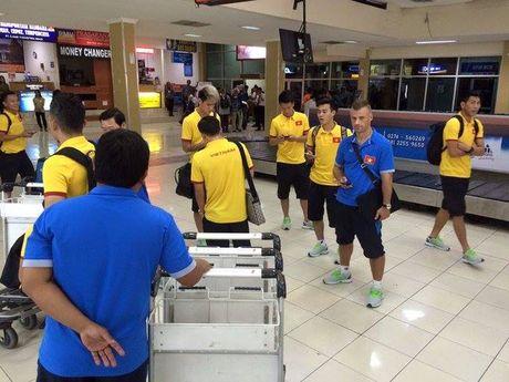 DT Viet Nam chi tap 1 buoi duy nhat truoc tran gap Indonesia - Anh 1