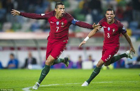 Cristiano Ronaldo pha ky luc ghi ban cua nguoi ngoai hanh tinh Ronaldo - Anh 1