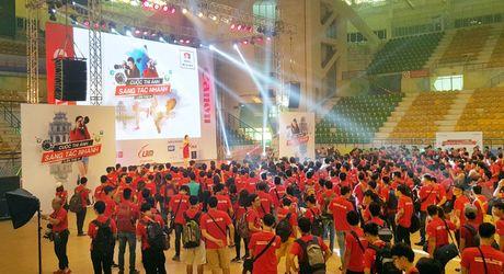 Gan 3000 tay may tham gia Canon Photomarathon 2016 Ha Noi - Anh 1