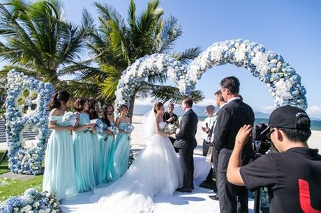 Choáng ngợp lễ cưới xa hoa chi phí 2 tỷ của cô gái Ninh Bình hình 3