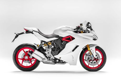 Ducati ra mat SuperSport va SuperSport S - sporttouring, dang giong Panigale nhung de chay hon - Anh 2