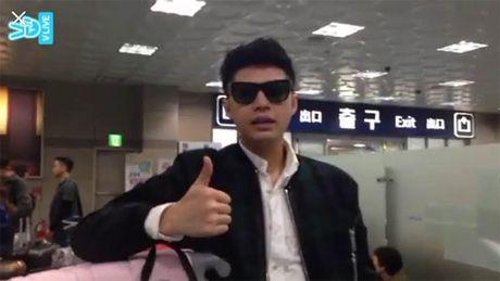 Noo Phuoc Thinh da den Busan, gap rut chuan bi cho Asia Song Festival - Anh 2