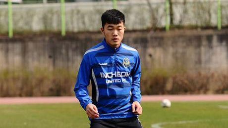 Tin cuc vui cho Xuan Truong o Han Quoc - Anh 2