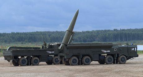 Tinh bao My du doan Nga trien khai ten lua Iskander-M trong khu vuc Kaliningrad - Anh 1