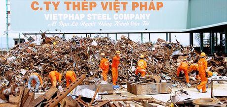 Da Nang so nha may thep Viet Phap gay o nhiem - Anh 1