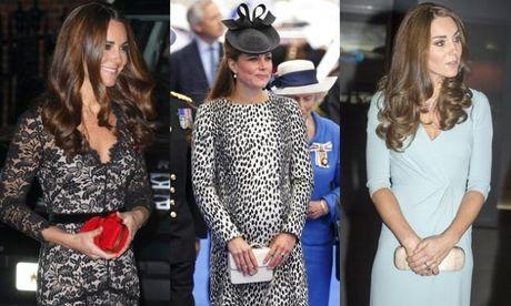 Nhung chiec vi hang hieu cua cong nuong Kate Middleton - Anh 1