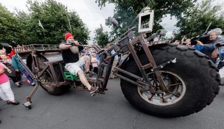 Chiem nguong chiec xe dap nang nhat the gioi - Anh 1