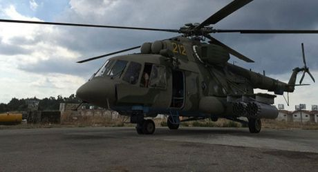 IS phong ten lua tan cong truc thang Nga o Syria - Anh 1