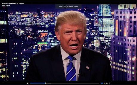 Trump nhat quyet khong rut lui du chien dich tranh cu roi vao khung hoang - Anh 1