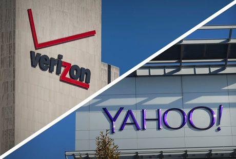 Verizon doi bot 1 ty USD tien mua lai Yahoo - Anh 1