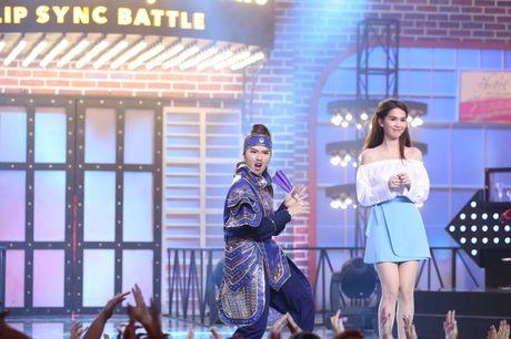 Lip Sync Battle: Kelvin Khanh om Tran Thanh tinh tu tren nen nhac Khoi My - Anh 5