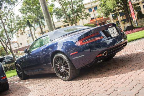 Aston Martin DB9 Volante ra bien trang tai Sai Gon - Anh 6